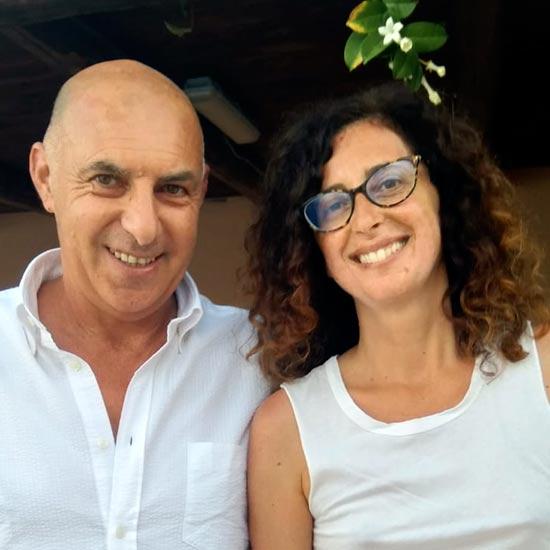 Personaggi: Enzo Anastasi con Teresa Mannino